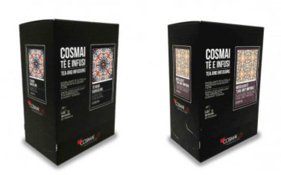 pyszna włoska herbata Cosmai